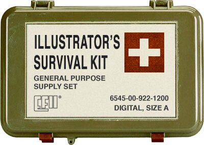 The illustrators' Survival Kit.